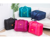 Nylon WaterProof Travel Bag Large Capacity Storage Bag - Fol...