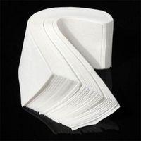 Preço de fábrica! 100 pçs / lote profissional cera de cera faixas de pêlos depilação de papel nonwoven depilante papel dhl frete grátis