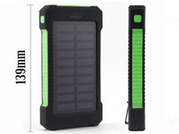 Solar Power Bank Dual USB Power Bank with LED light 20000mAh...