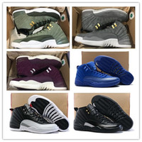 Wholesale 12 Class of 2003 Bordeaux Basketball Shoes Men Spo...