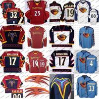 Atlanta Thrashers Premier Hockey Jersey 15 Dany Heatley 17 Ilya Kovalchuk 39 Tobias Enstrom 16 Marian Hossa Hockey Jerseys