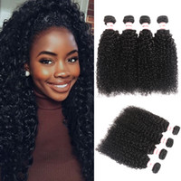 MSH 10A Grade Peruvian Kinky Curly Virgin Hair 4 Bundles Hum...