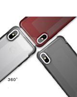 العلامة التجارية أربعة ركن مكافحة السقوط شفافة تبو لينة هلام السيليكا الهاتف المحمول قذيفة غطاء الهاتف المحمول ل فون x 8 7 6/6 ثانية s8 s9 زائد note8