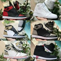 2018 New Mid OG 1 top 3 mens basketball shoes 1s Homage To H...