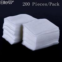Nail Clean Lingettes Coton Papier 2000pcs / pack Nail Art Lingettes Papier Peluche Pad Polish Cleaner Remover Manucure