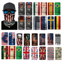 Magic Scarfs Scarf Outdoor MASK US USA Country Flag Multifun...