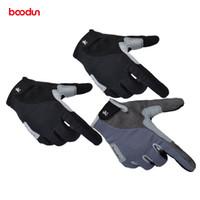 Boodun Calidad Full Finger Hunting Senderismo Guantes Hombres Mujeres Escalada Guantes Al aire libre antideslizante Deportes Guantes Gym Tactical Cycling Glove