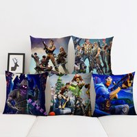 Fortnite The Fortress Night Comic Cushion Cover PP Cotton Fl...