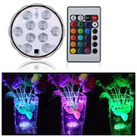 Wholesale- Super Bright Remote Controlled Submersible Led Li...