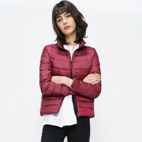 Women Down Coats 2017 New Ultra Light White Duck Down Jacket...