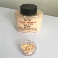 Ben Nye Powder 42g Nuovo Natural Viso Loose Powder impermeabile nutriente Banana Brighten durevole con il numero di serie del DHL