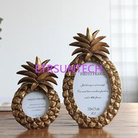 3 Inch 6 Inch Pineapple Photo Frame Retro Frame Oval Resin H...