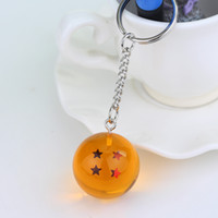 Ball 1- 7 Star Spherical Keychain Men Women Seven Star Keyri...