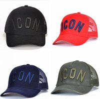 ICON baseball caps hats Luxury brand icon Cotton Embroidery ...