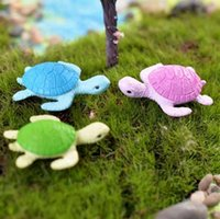 Мини черепаха Черепаха миниатюрный Фея сад украшения DIY Кукольный дом террариум микро пейзаж украшения