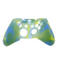 Pour Xone Soft Cover Silicone Flexible Caoutchouc Camouflage Cover Cover Pour Xbox One Slim Controller Grip Cover en stock
