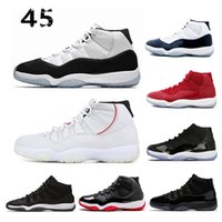 New 11 11s concord 45 Platinum Tint Men Women Basketball Sho...