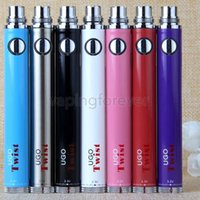 510 UGO Twist Vaporizzatore EVOD eGo Tensione Variabile VV Batteria UGO-Twist 650mah 900mah eCig Pen con caricabatterie USB DHL