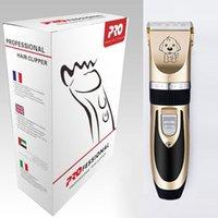 Профессиональная машина для стрижки волос для питомца для волос для волос с USB-кабелем Домашние животные электронные резак для волос для собаки и кота