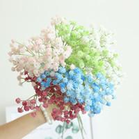 10pcs babysbreath gypsophila artificielle colle artificielle plante mariage fête ameublement ameublement décorations de noël décoration de bureau