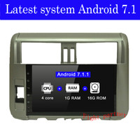 Precio de fábrica Fight partner 4G Android Car DVD para Toyota Land Cruiser Prado 150 2010 - 2013 coche GPS Stereo radio gps player