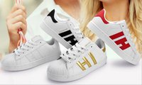 Vente chaude chaussures holographique Mode Hommes Casual Chaussures Superstar Femme Sneakers Femmes Zapatillas Deportivas Mujer Lovers Sapatos Femininos