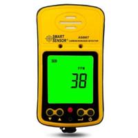 الاستشعار الذكية AS8907 كاشفات أول أكسيد الكربون المحمولة اختبار متر AS-8907 0 ~ 1000ppm