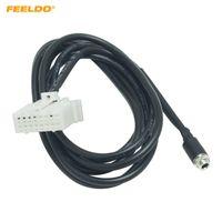 Feeldo voiture femelle jack aeux dans l'interface d'entrée câble d'adaptateur d'interface pour Mazda 3 6 m3 m6 mx-5 rx8 becurn B70 câble audio câble fil # 5781
