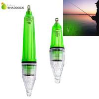 All'ingrosso-5pcs lampada lampeggiante impermeabile Verde Pesca subacquea Lampada da pesca per attrarre Lure Light 12cm 17cm
