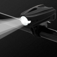 Cycling USB Rechargeable Bike Light 4 Modes Double Lamp  Handlebar Headlight Bicycle LED IPX6 Waterproof Headlight