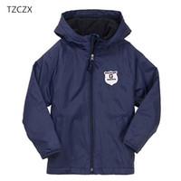 Tzczx 8320 продвижение новые дети мальчики Куртки пальто для 4-12 дети носят одежду