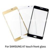 Wymiana ekranu LCD Ekran zewnętrzny szkło zewnętrzne Obiektyw panelu zewnętrznego dla Samsung A300 A5000 A7000 A8000 A9000 (A5 A7 A8 A9 2015)