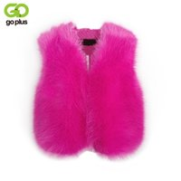 GOPLUS Winter Women Vest Faux Fur Coat Sleeveless Lady Outer...