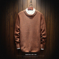 Men Autumn Winter Warm Sweaters New Male Thicker Warm Casual...