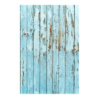 100x150cm Blue weathered floor photography backgrounds for p...
