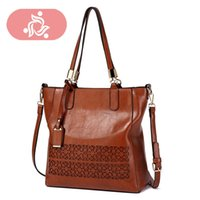 Hot Women' s Handbags Luxury Large Bag Leather Women Mes...