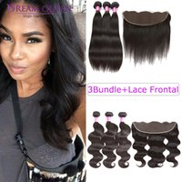 Hot Malaysian Brazilian Remy Human Hair Extensions 3 Bundles...