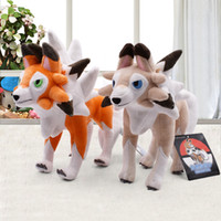 2Style lycanroc Peluche Dolls Soft Cartoon Plush Toy PP Cott...