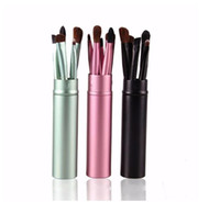 5pcs Makeup Brush Sets Lip Brush Eye Shadow Brow Brush Set E...
