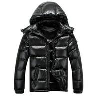 2018 고전적인 패션 남성 여성 캐주얼 다운 재킷 MAYA 코트 아래로 남성의 야외 따뜻한 옷을 사람이 겨울 외투 재킷 파카