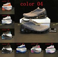2018 New Rainbow VaporMax V2 2018 BE TRUE Men Woman Shock Ru...