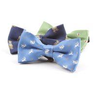 Cravatte a farfalla regolabile per bambini con pre-legatura a mano pre-legata del ragazzo Disegni vari