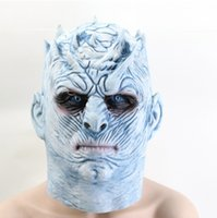 Game of Thrones - Masque de la tête de marcheur blanc