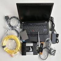 Ferramenta de diagnóstico de reparo de carros automotivos Ferramenta de diagnóstico usada Laptop Computadores T410 I5i7 4G + para BMW WiFi icom Próximo A + B + C + 720GB SSD V03.2021 Soft-ware