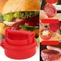 Presses à hamburger Couteaux de presse à hamburger Moule à hamburger farci Outils de cuisine grillés Formulaires de hamburger manuels