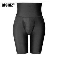 Aismz homens corpo shaper bundas levantador de cintura preta instrutor calcinha homem espartilho controle de emagrecimento calças hip levantamento shaperwear