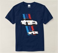 Vintage dry fit t shirt men brand car E36 M3 supercar Print ...