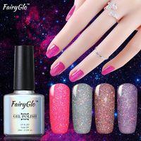 FairyGlo 1pcs Neon Gel-Nagellack 10ml Vernis Semi Permanent Nail Gel