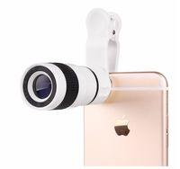 Nova 8x zoom telescópio telefônico óptico telefone celular portátil lente da câmera telefoto e clipe para iphone samsung htc huawei lg sony s1c
