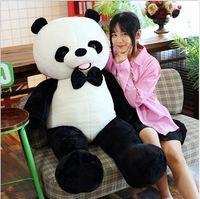 Simulación Panda Peluche Juguete Negro y Blanco Gigante Panda Juguetes Peluche Oso de juguete para niños Juguetes de peluche para la decoración de la habitación del bebé